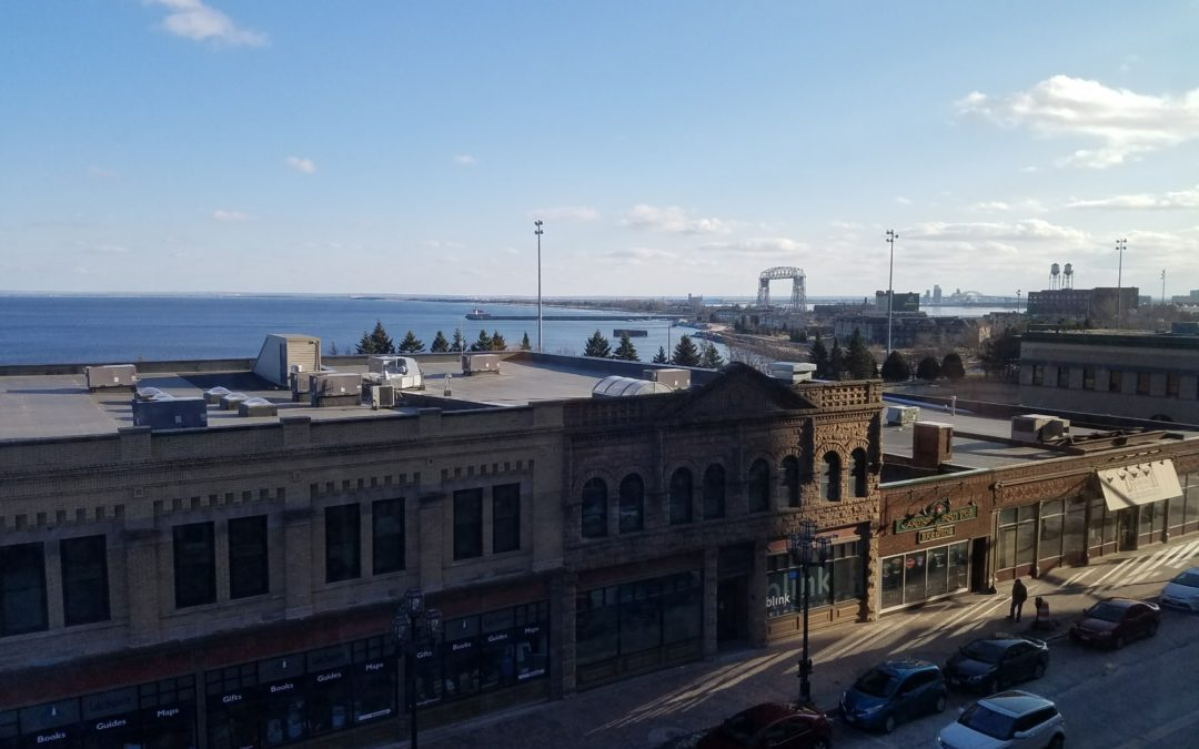 "Duluth Skyline – View from ""on high"""