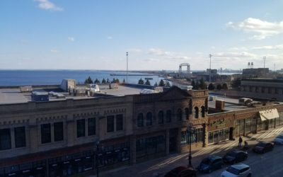"""Duluth Skyline – View from """"on high"""""""